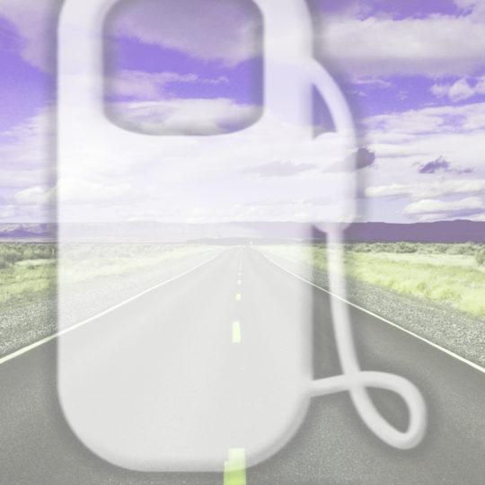 Landscape road Purple Android SmartPhone Wallpaper