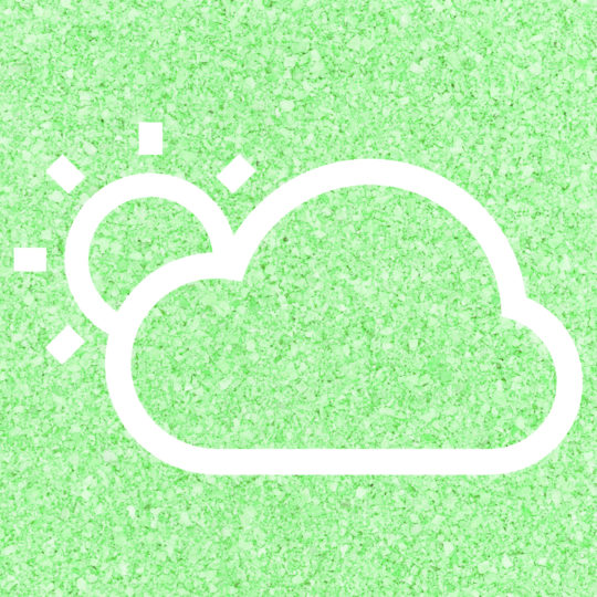 Sun cloud Weather Green Android SmartPhone Wallpaper