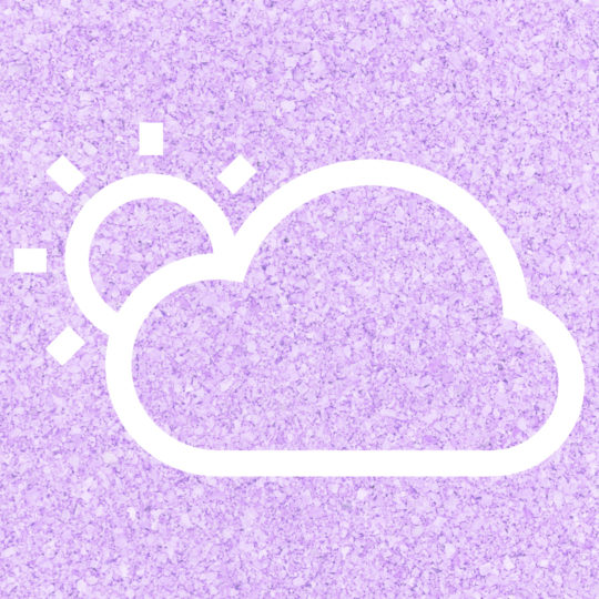 Sun cloud Weather Purple Android SmartPhone Wallpaper