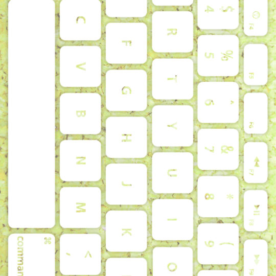 keyboard Yellow-green white Android SmartPhone Wallpaper