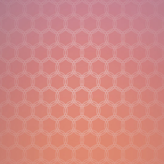Gradation pattern circle Red Android SmartPhone Wallpaper