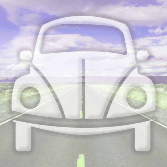 Landscape car road Purple Android SmartPhone Wallpaper