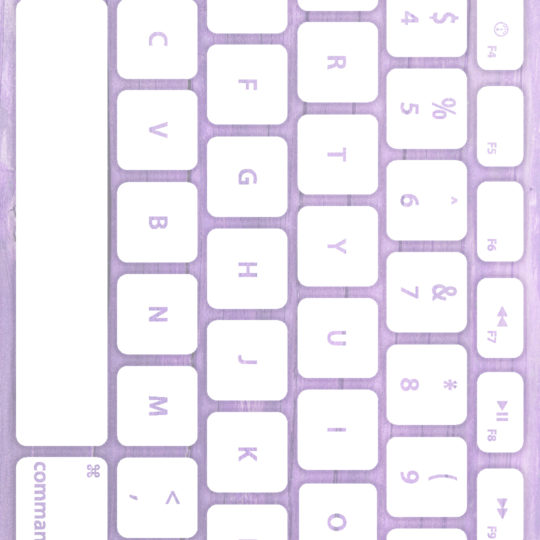 Wood grain keyboard Purple white Android SmartPhone Wallpaper