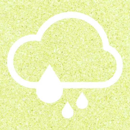 Cloudy rain Yellow green Android SmartPhone Wallpaper