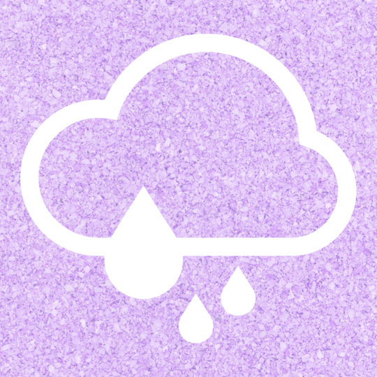 Cloudy rain Purple Android SmartPhone Wallpaper