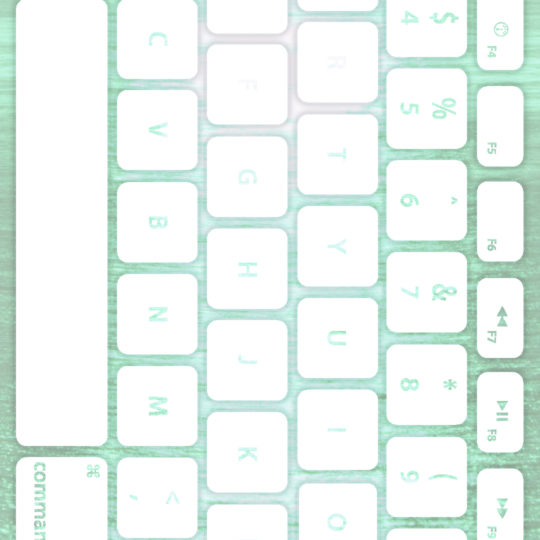 Sea keyboard Blue-green white Android SmartPhone Wallpaper