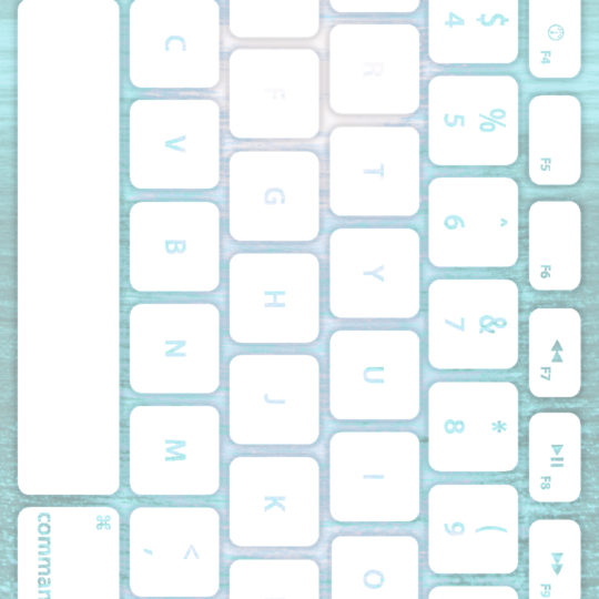 Sea keyboard Pale white Android SmartPhone Wallpaper