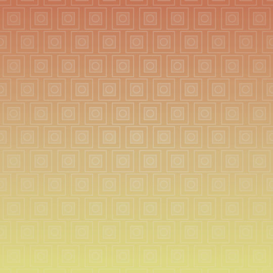 Quadrilateral gradation pattern Red Yellow Android SmartPhone Wallpaper