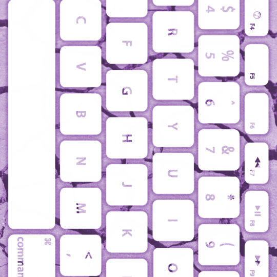 Ground keyboard Purple white Android SmartPhone Wallpaper