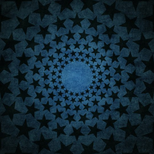 Star pattern Black Blue Android SmartPhone Wallpaper
