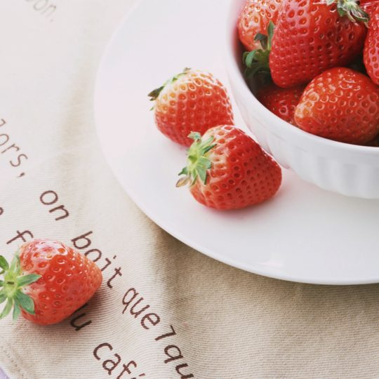 Food strawberry Android SmartPhone Wallpaper