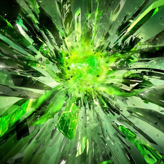 Cool green Android SmartPhone Wallpaper