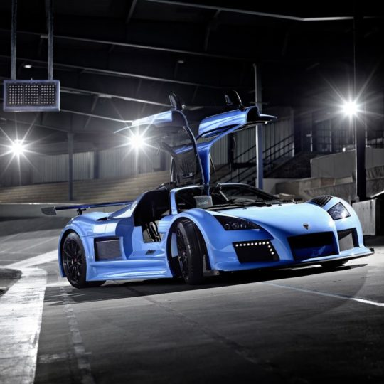 Vehicle car blue Android SmartPhone Wallpaper