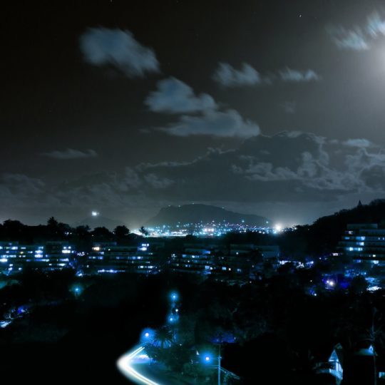 Landscape night scene Android SmartPhone Wallpaper