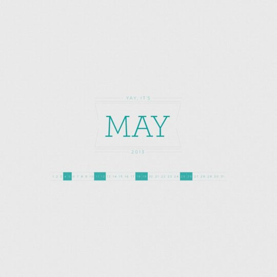 Cool MAY green Android SmartPhone Wallpaper