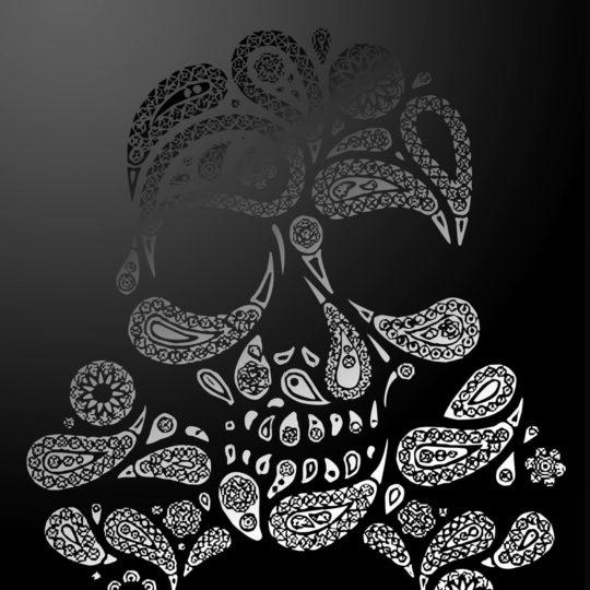 Skull logo Android SmartPhone Wallpaper