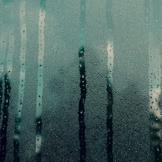 Landscape glass water droplets Android SmartPhone Wallpaper