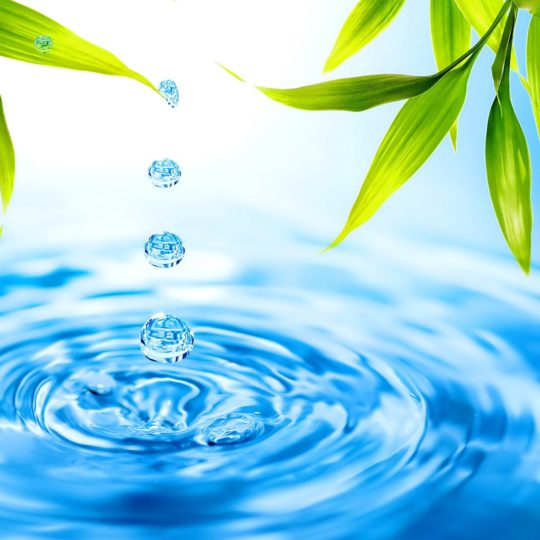 Natural water  blue ba green Android SmartPhone Wallpaper