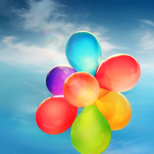 Landscape balloons Android SmartPhone Wallpaper