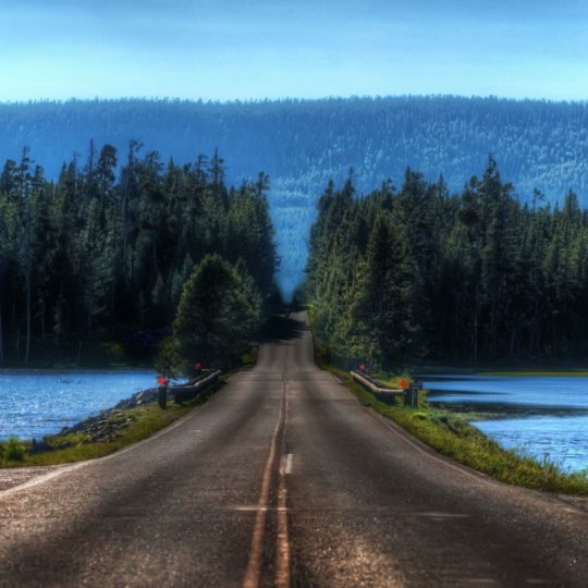 Landscape road Android SmartPhone Wallpaper