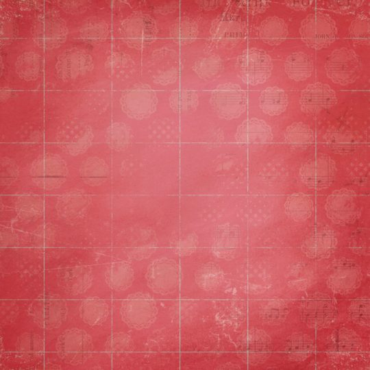 Red musical score note Android SmartPhone Wallpaper
