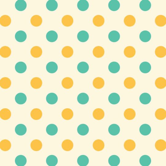 Yellow polka dot green Android SmartPhone Wallpaper