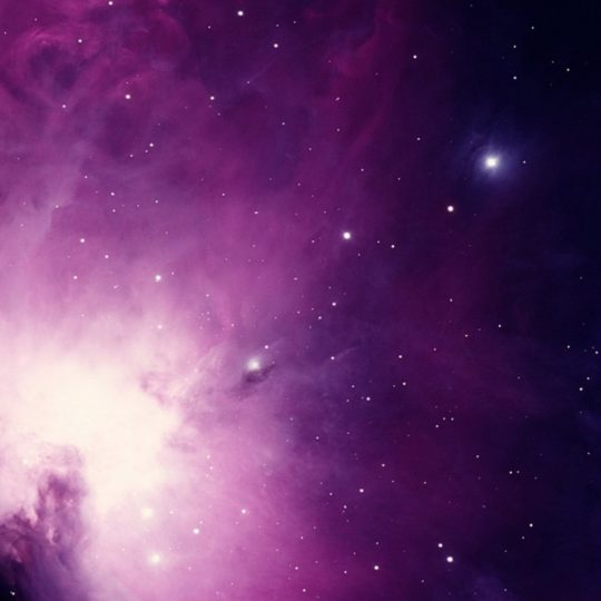 Space purple Android SmartPhone Wallpaper