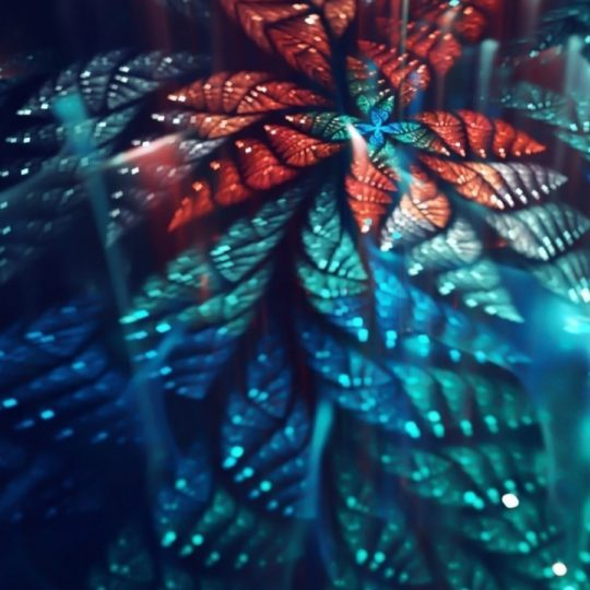 Cool green red Android SmartPhone Wallpaper
