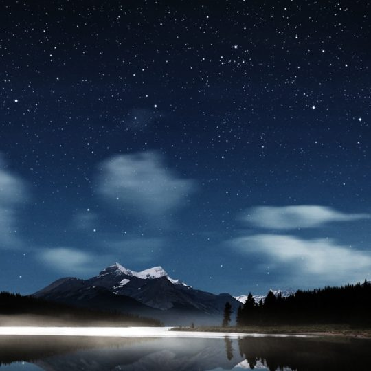 Landscape night Android SmartPhone Wallpaper