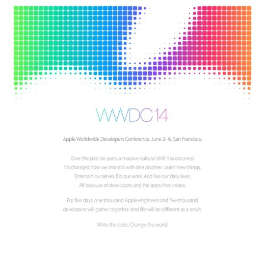 AppleWWDC14 Android SmartPhone Wallpaper