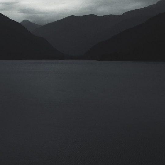 Landscape monochrome sky Android SmartPhone Wallpaper