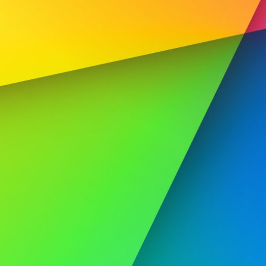 Colorful red, green and blue yellow Android SmartPhone Wallpaper