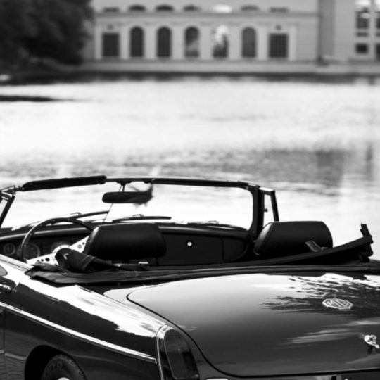 Monochrome car cool Android SmartPhone Wallpaper