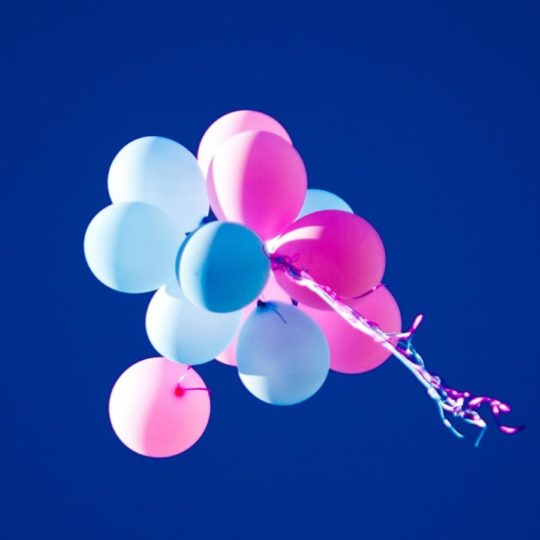 Blue balloons Android SmartPhone Wallpaper