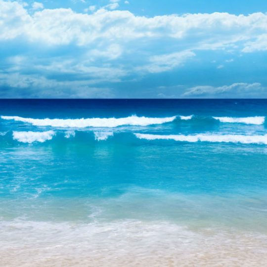 landscape  sea  blue sky Android SmartPhone Wallpaper