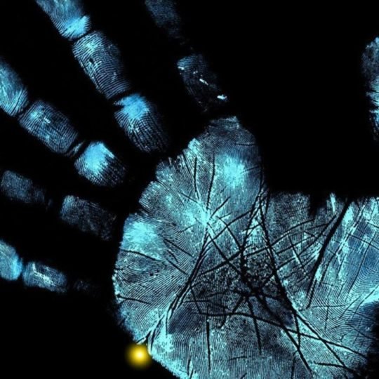 Cool blue-black hand Android SmartPhone Wallpaper