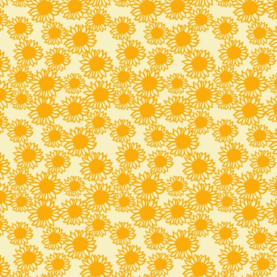 Pattern sunflower yellow women-friendly Android SmartPhone Wallpaper