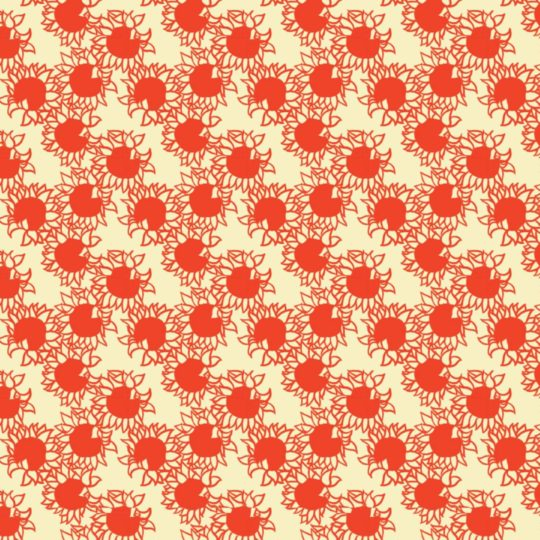 Pattern sunflower red women-friendly Android SmartPhone Wallpaper