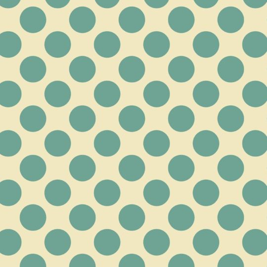 Pattern polka dot green and yellow Android SmartPhone Wallpaper