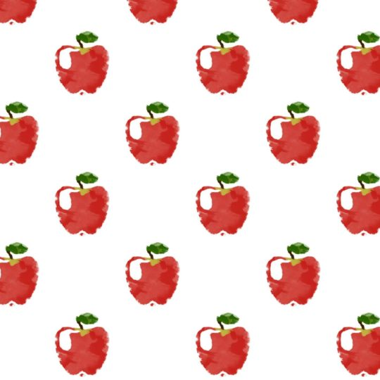 Pattern illustration fruit apple red women-friendly Android SmartPhone Wallpaper