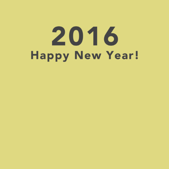 happy news year 2016 yellow wallpaper Android SmartPhone Wallpaper