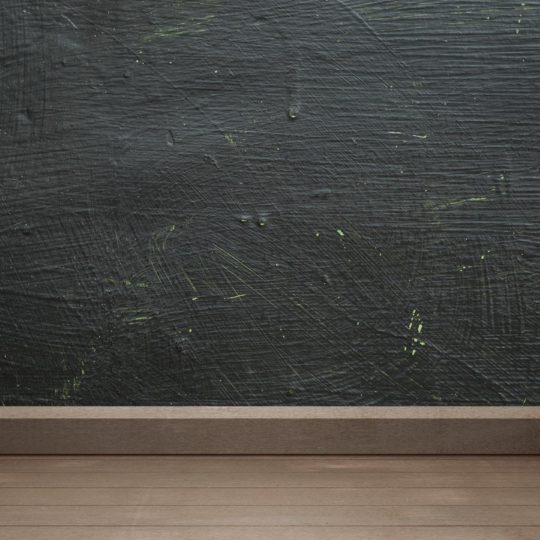 Black wall floorboards brown Android SmartPhone Wallpaper
