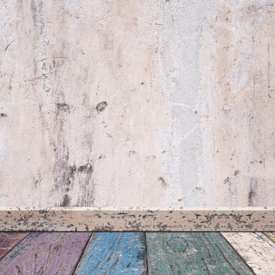 White wall floorboards colorful Android SmartPhone Wallpaper