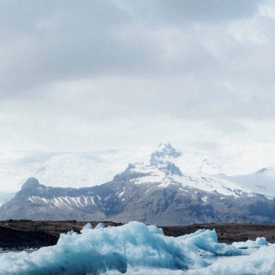 Landscape ice floe Android SmartPhone Wallpaper