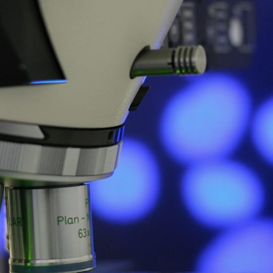 Microscope blue Android SmartPhone Wallpaper