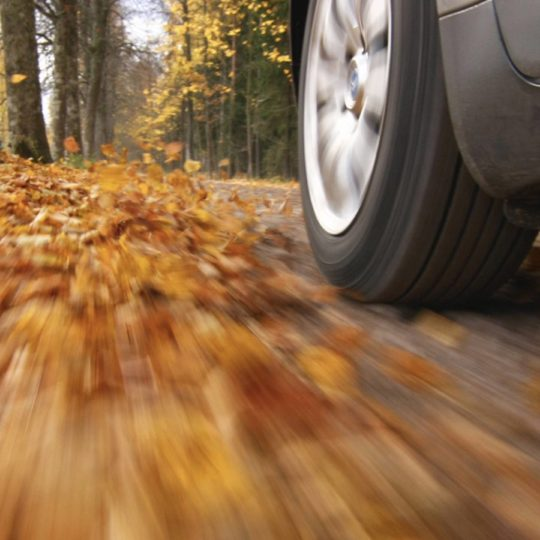 Landscape car tire Android SmartPhone Wallpaper