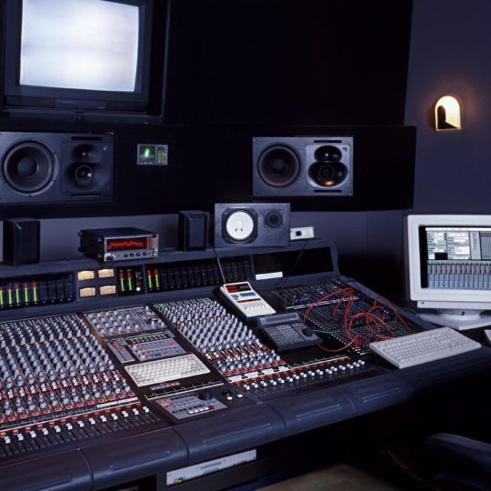 Recording studio mixer Android SmartPhone Wallpaper
