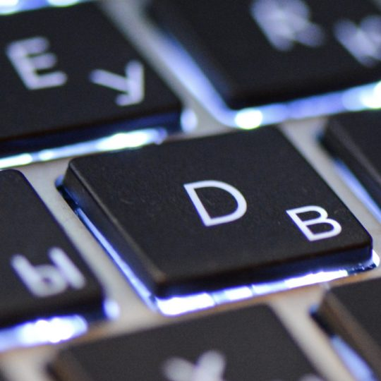 PC keyboard black Android SmartPhone Wallpaper