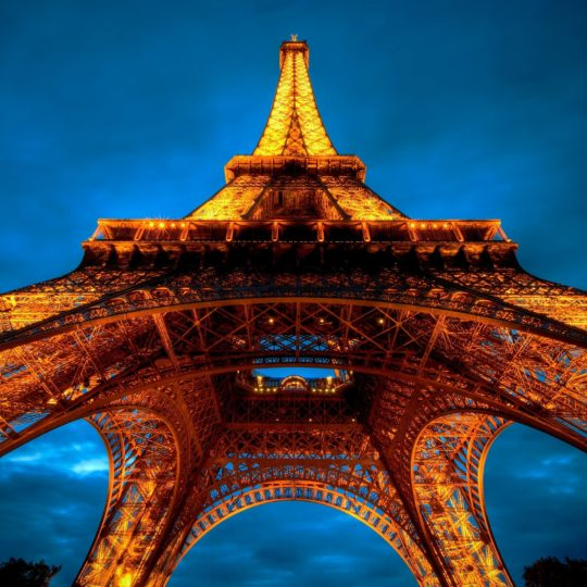 Landscape Eiffel Tower Android SmartPhone Wallpaper