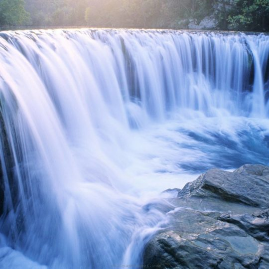 Landscape waterfall Android SmartPhone Wallpaper